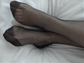 my wifes lovely legs and feet 2