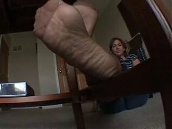 252. Feet in Stockings To Make You Cum