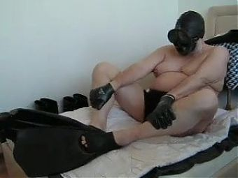 my black Rubber Flippers