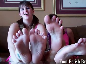 My cute little chocolate toes need sucking