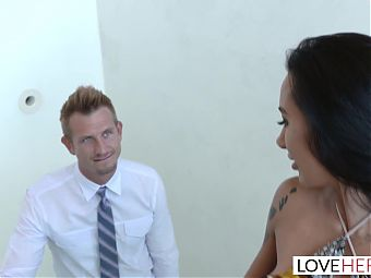LoveHerFeet - Sneaky Cheating Foot Sex With The Realtor.
