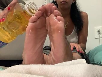 Oily neighbor soles pt 1