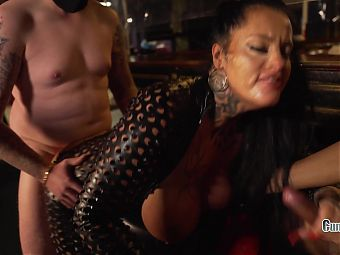Dick or Treat, Tourist MILF Creampie Gangbang in Amsterdam