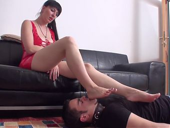 foot slave of fetish lady xenia