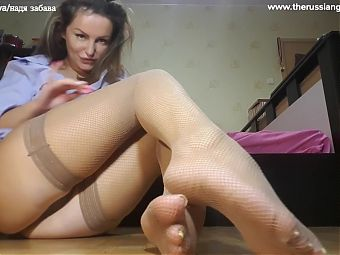 Ill lick your sperm off of my feet, my favorite slave