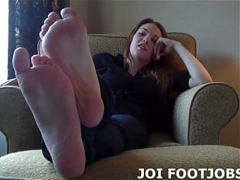 I want to wrap my toes around your cock
