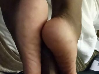 Ruby Red Gives Reverse Toejob